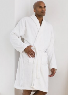 Personalised Shawl Collar Towel Robe  TC22